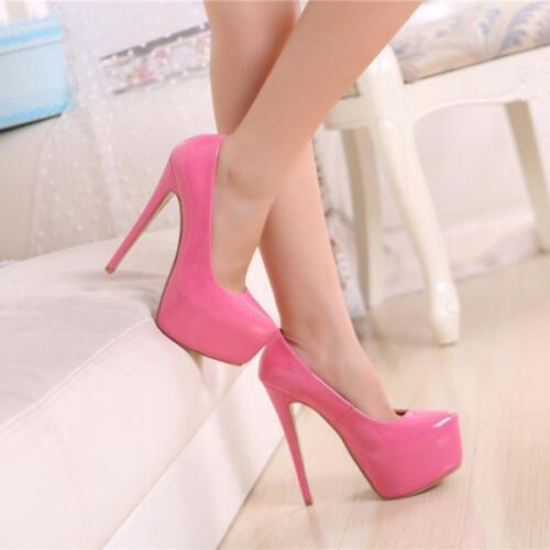 Stiletto Femmes Plateforme Nouveau 1 Escarpins Chaussures Talons Haut Taille A15 Egq6c6BP