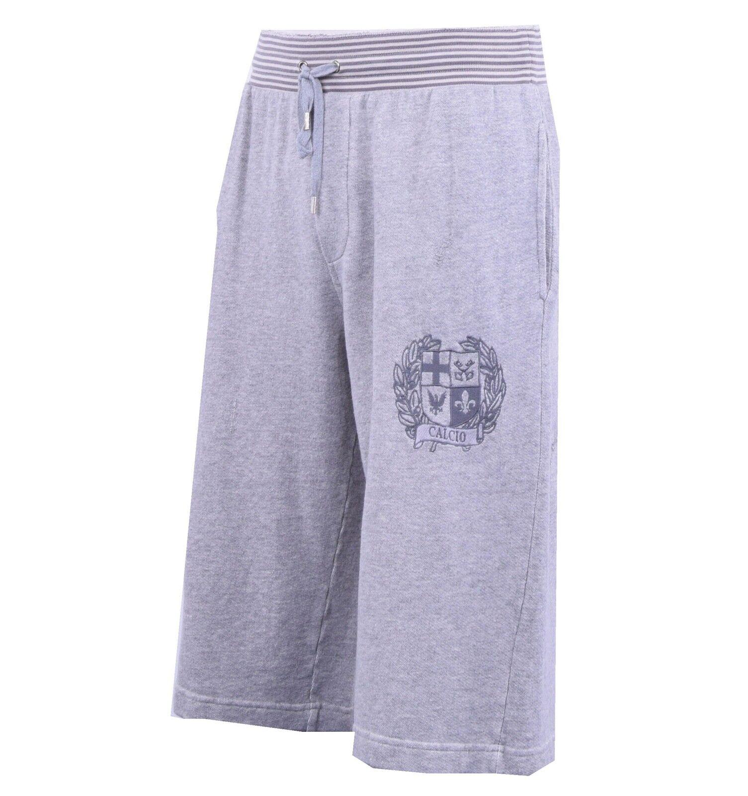 DOLCE DOLCE DOLCE & GABBANA Fitness Sport Shorts CALCIO Grau Gym Shorts grau 04126 6dd47d