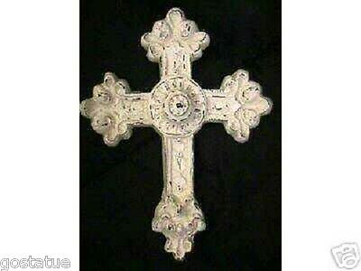 Gostatue puffy cross mold plastic cross mould concrete mold plaster mold