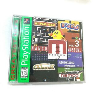 NAMCO-Museum-Vol-3-PLAYSTATION-1-PS1-Game-Tested-Working-Complete