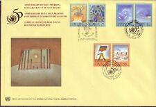 UNO Trio FDC Michel Nr. 45  vom 27.10.1998