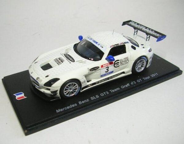 Mercedes-Benz SLS gt3 nº 3 GT Tour 2011