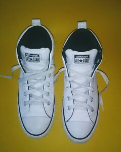 White Leather Hi Tops Mens Size