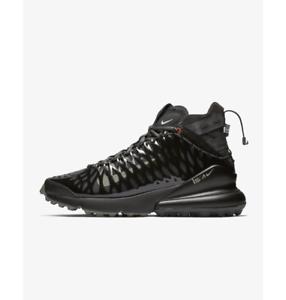 Black//Dark Stucco//Total Crimson//Anthracite Men/'s Nike Air Max 270 ISPA
