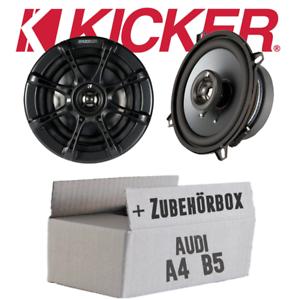 Audi a4 b5-Kicker 13 cm haut-parleur Boxe Kit de montage voiture col de cygne de porte avant
