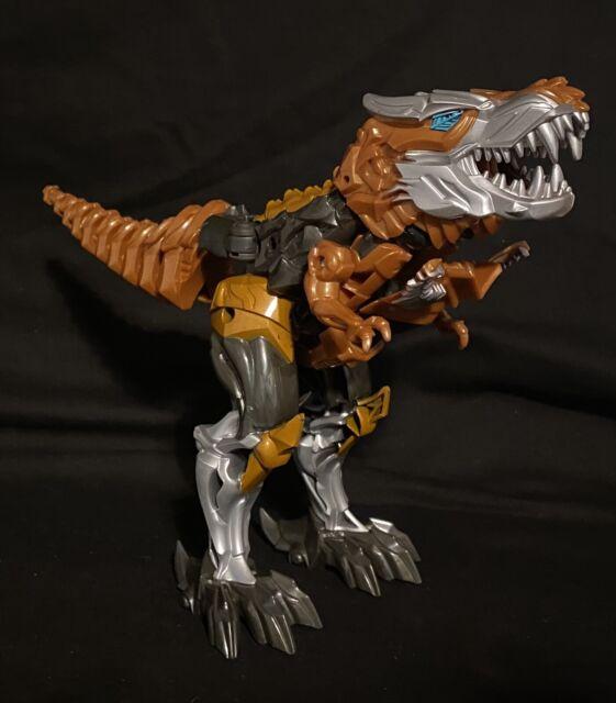Grimlock Transformers Age of Extinction Flip And Change Dinobot T-Rex Dinosaur