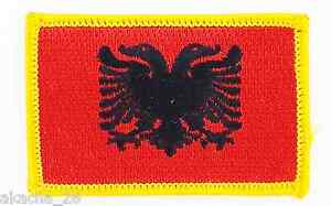 Patch Ecusson Brode Drapeau Albanie Insigne Thermocollant Neuf Flag Patche Hhkgh4tc-08002545-231842143