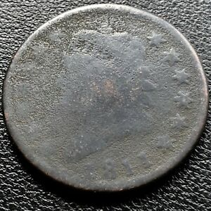1811-Large-Cent-Classic-Head-One-Cent-1c-Rare-Circulated-20390