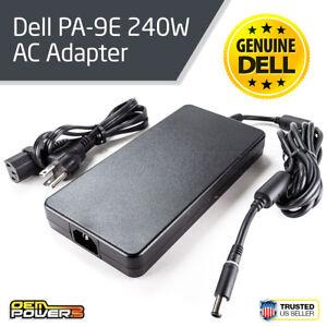 DELL-GENUINE-PA-9E-240W-Precision-M4800-M6600-M6700-M6800-AC-Adapter-Charger
