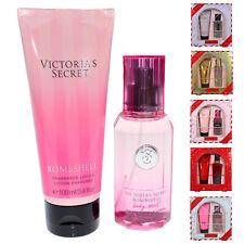 Victoria's Secret 2 Piece Gift Set Body Mist Spray Splash Fragrance Lotion New