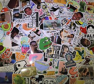 200pc Random Skateboard Stickers bomb Vinyl Laptop Luggage Decals Dope Sticker