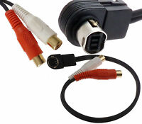 Jvc Ai Net J Link Aux Input Auxiliary Rca Adapter Iphone Mp3 Ks-u57 Usa Shipper