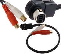 Jvc Ai Net J Link Aux Input Auxiliary Rca Adapter Iphone Mp3 Ks-u57 Usa Shipper