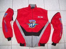 Nuevo MV Agusta CRC Faan-chaqueta/chaleco rojo negro gris Veste Jacket jas Jakka