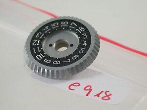 Alerte Original Rolleiflex Pièce De Rechange Spare Part Réglage-roue Adjusting Number Wheel (6-afficher Le Titre D'origine Promouvoir La Production De Fluide Corporel Et De Salive