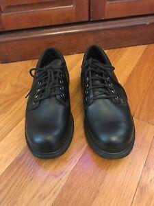 Keuka Suregrip Steel Toe Black Leather