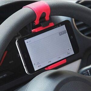 Practical-Car-Phone-Holder-Steering-Wheel-Clip-Mount-Holder-For-Phone-GPS-US-ILO