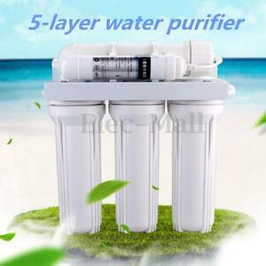 5 Stage Water Filter System Reverse Osmosis Filtration