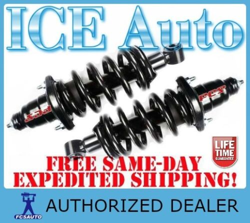 FCS Complete Loaded REAR Struts /& Spring Assembly fits 09-13 TOYOTA COROLLA XRS