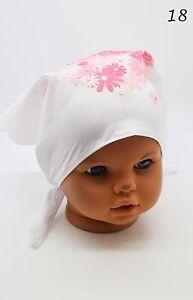 Kids Girls Toddler Floral Head Scarf Adjustable Headband Tie Up Bandana Sun  Hat 56de3bf542b