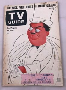 1962-TV-Guide-October-13-Jackie-Gleason-Captain-Kangaroo-Merv-Griffin-Shore-PITT