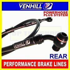 TRIUMPH 955 SPEED TRIPLE T309 VENHILL s/steel braided brake line kit rear BK
