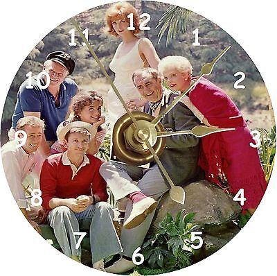 NEW Gilligan's Island Cast CD Clock