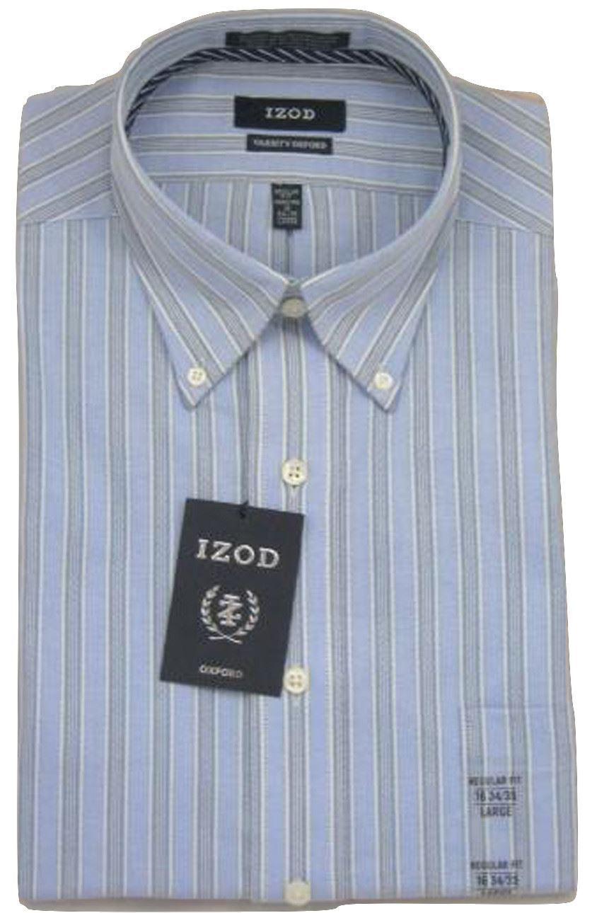 Blue Multi Stripe Oxford Button-Down