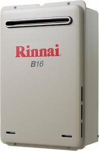 Rinnai Builders 50°C 16L Instant Hot Water System B16L50A B16 *LPG GAS*