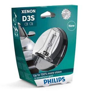 1x-Philips-D3S-35W-X-tremeVision-gen2-Xenon-150-mas-de-luz-42403XV2S1