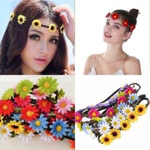 Haarband-KAMILLE-HIPPIE-Blume-Blumenkranz-Blume-Stirnband-Haar-Bluete-Blumen