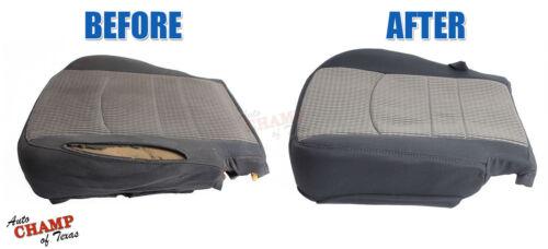 2015 2016 Chevy Silverado 1500 LS LT Driver Side Bottom Cloth Seat Cover Black
