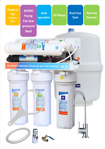 5-stages-undersink-RO-reverse-osmosis-water-filter-system-with-Pump-amp-SS-Faucet
