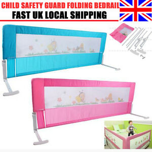 Image Is Loading 150 180cm Kids Baby Cot Child Safety Bed