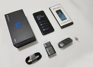 New-Samsung-Galaxy-S8-SM-G950U-Verizon-AT-amp-T-UNLOCKED-5-8-034-64GB-Smartphone-Black