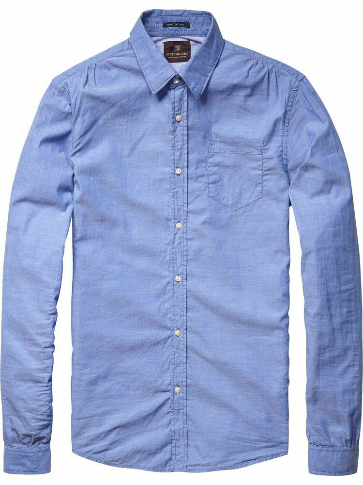 SCOTCH & SODA Crispy procurarle Camica Shirt Camicia