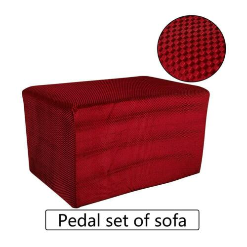 Footstool Sofa Cover Stretch Slipcover Footstool Protector Dust-proof Cover