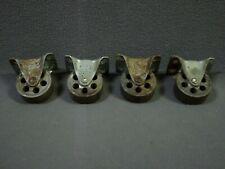 4 Plate Casters 2 X 78 Steel Wheel Iron