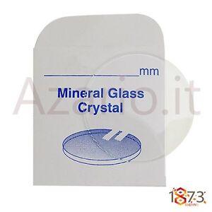 Ensoleillé Vetro Minerale Orologi Piano Spessore 2.00 Mm Flat Glass Watch Part Ricambi Tool Cadeau IdéAl Pour Toutes Les Occasions