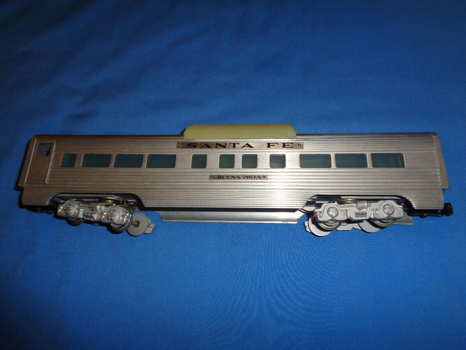 AMT KMT Santa Fe Buena Vista Aluminum Vista Dome Passenger Car