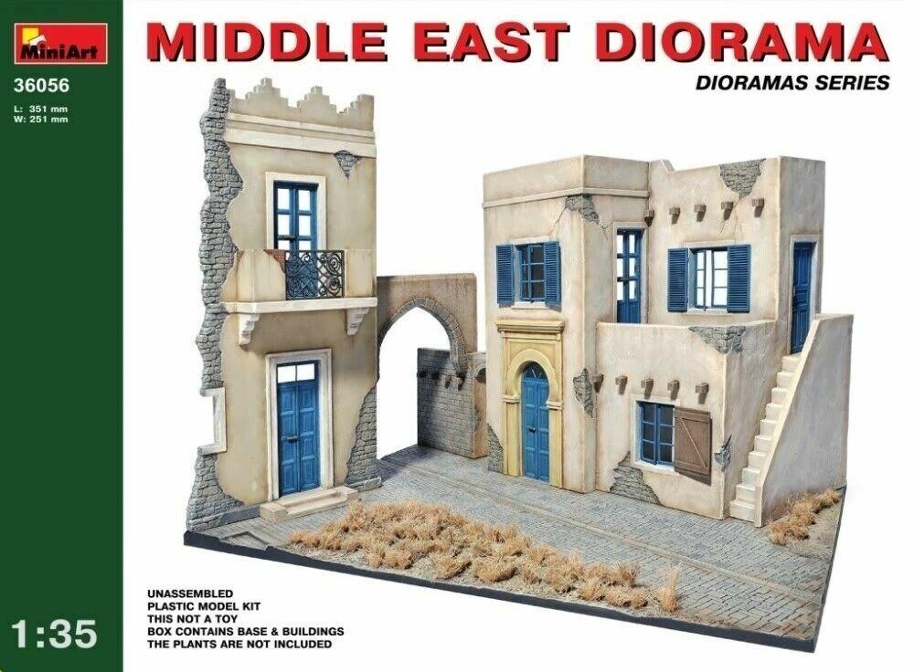 Miniart 1:3 5 Scala Modello Kit - Middle East Diorama MIN36056