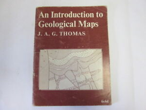 Acceptable-An-Introduction-to-Geological-Maps-Thomas-J-A-G-1966-01-01-Bookp