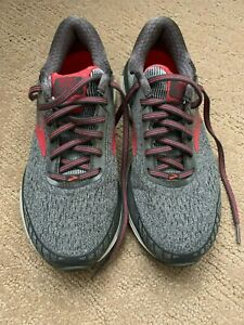 Running Shoes, Grey/Pink, Size