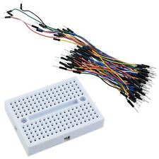 170 Point Solderless Pcb Breadboard 65pcs Jumper Wire Cables