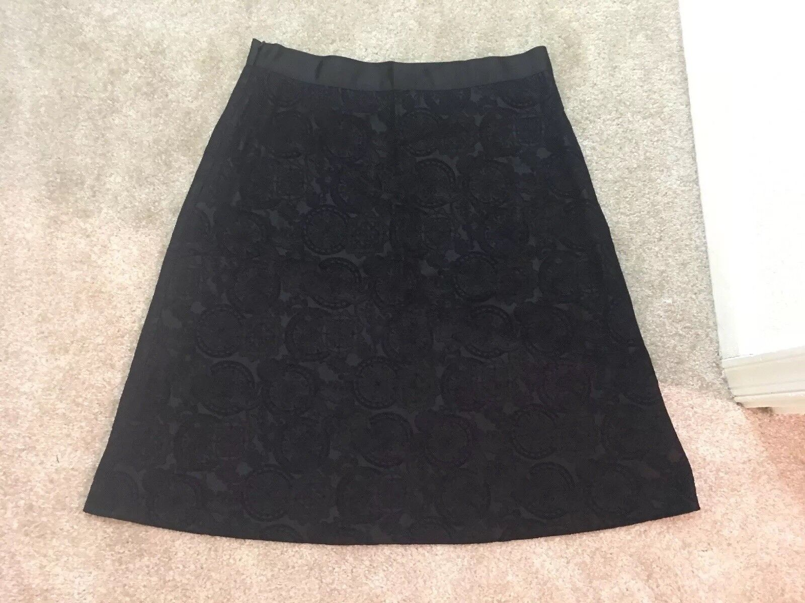 Womens Navy Brooks Bredhers Skirt Size 12