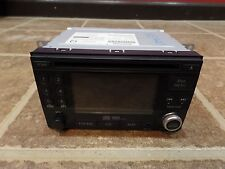 10 NISSAN CUBE RADIO OEM CD PLAYER DISPLAY 2010 RECEIVER MP3 REAR CAMERA