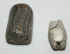 Lot of 2 Ancient Roman Stone Beads CIRCA 1st-2ND CENTURY AD.