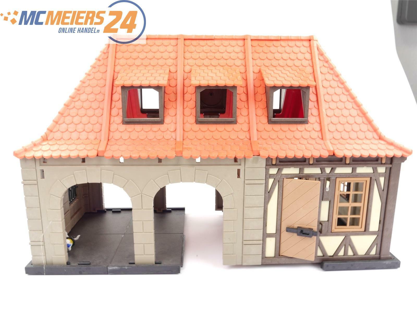 E43v243s PLAYMOBIL Traccia G 4300 edificio stazione ferroviaria reticolare