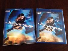 Jumper (Blu-ray 3D 2 Disc) W/ OOP Lenticular Slipcover BRAND NEW SEALED!