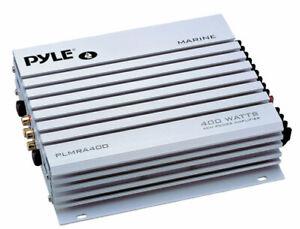 Pyle-PLMRA400-4-Channel-400w-WaterProof-Marine-Boat-12v-Speaker-Amplifier-Amp